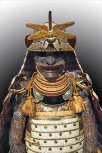 identite-visuelle-casque-samouraï-japon-libellule