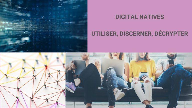 digital natives et la communication numérique