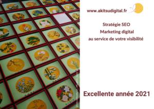 exemple de carte virtuelle pour les réseaux sociaux